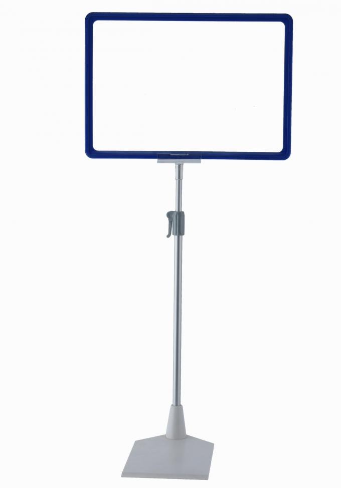 Metal Floor Poster Stands with A3 A4 A5 Price Display Frame