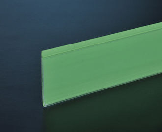 Environmental Recycled Shelf Data Strips 32mm / 39mm For Supermarket